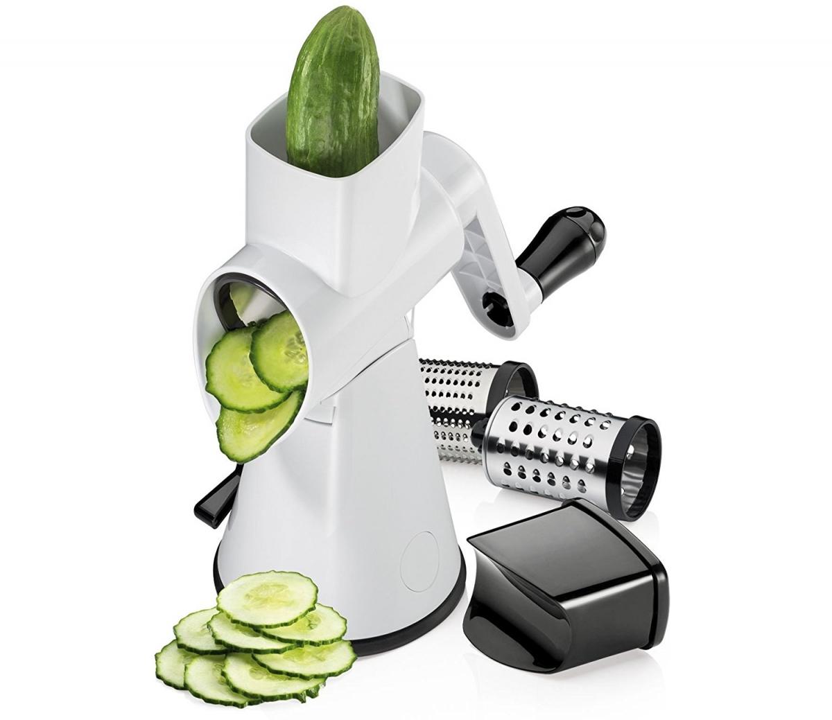 Küchenprofi struhadlo Rapid série Veggie-Fit, 3 struhadla
