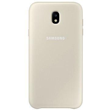 Originální obal Dual Layer Cover pro Samsung Galaxy J5 (2017) - zlatý EF-PJ530CFEGWW
