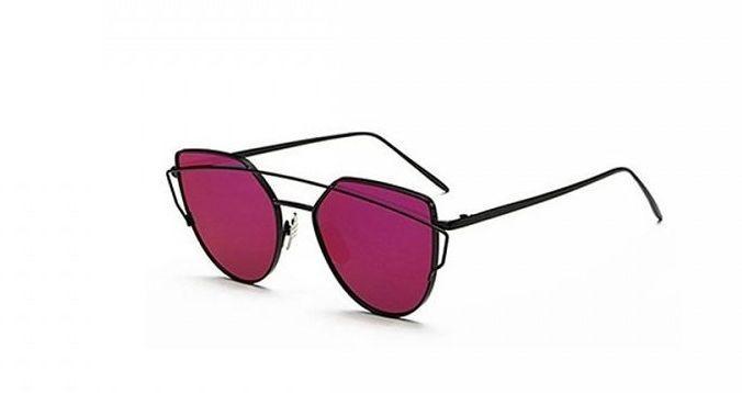 Sluneční brýle s červenými skly a filtrem UV 400
