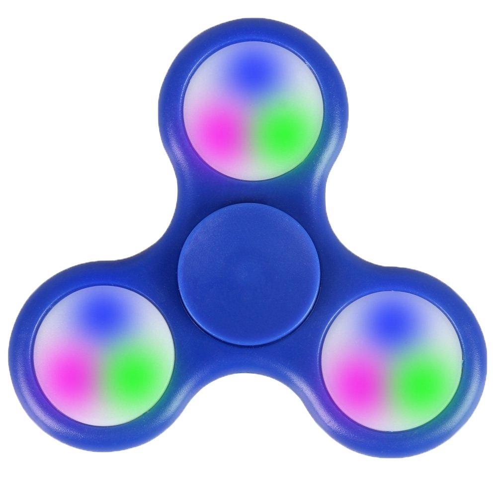 Svítící Fidget Spinner, tmavě modrý