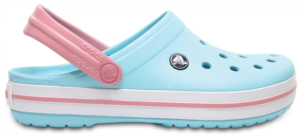 Crocs Crocband - Ice Blue/White, M7/W9 (39-40)