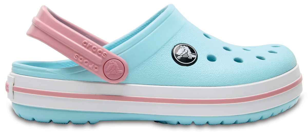 Crocs Crocband Kids - Ice Blue/White, J2 (33-34)