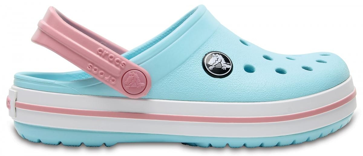 Crocs Crocband Kids - Ice Blue/White, J3 (34-35)