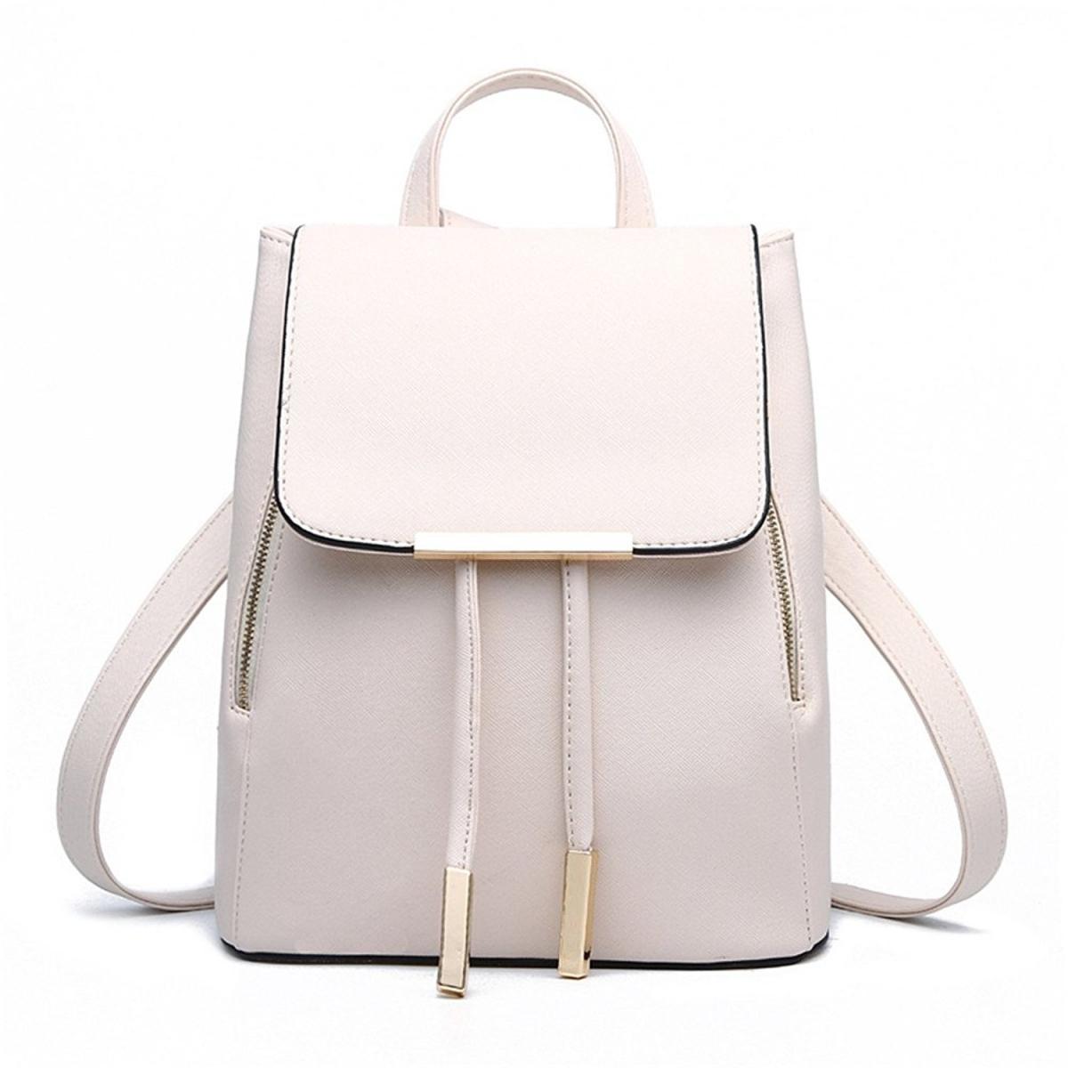 Módní batoh PL27, bílý