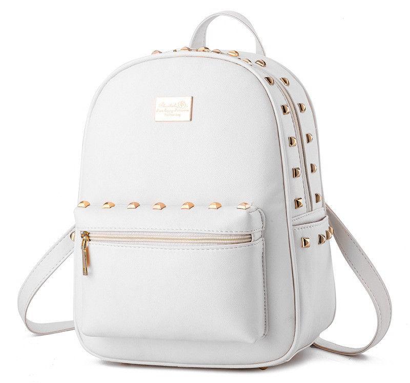 Módní batoh PL36, bílý