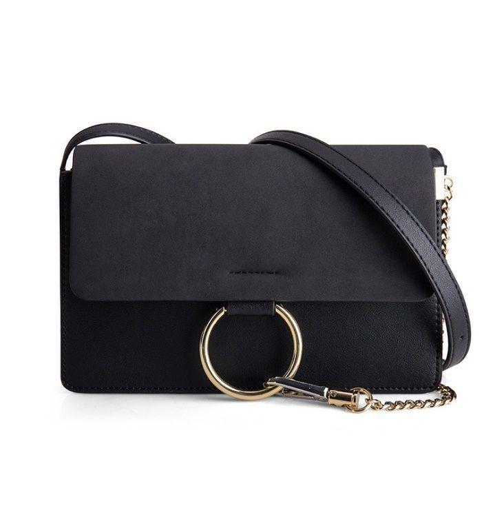 Crossbody kabelka Ring - černá