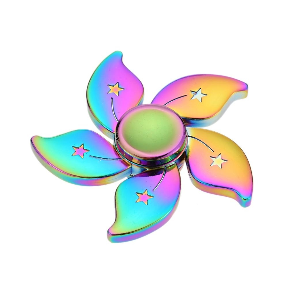 Kovový Fidget Spinner Esperanza ETF113 s duhovým efektem ETF113 - 5901299937495