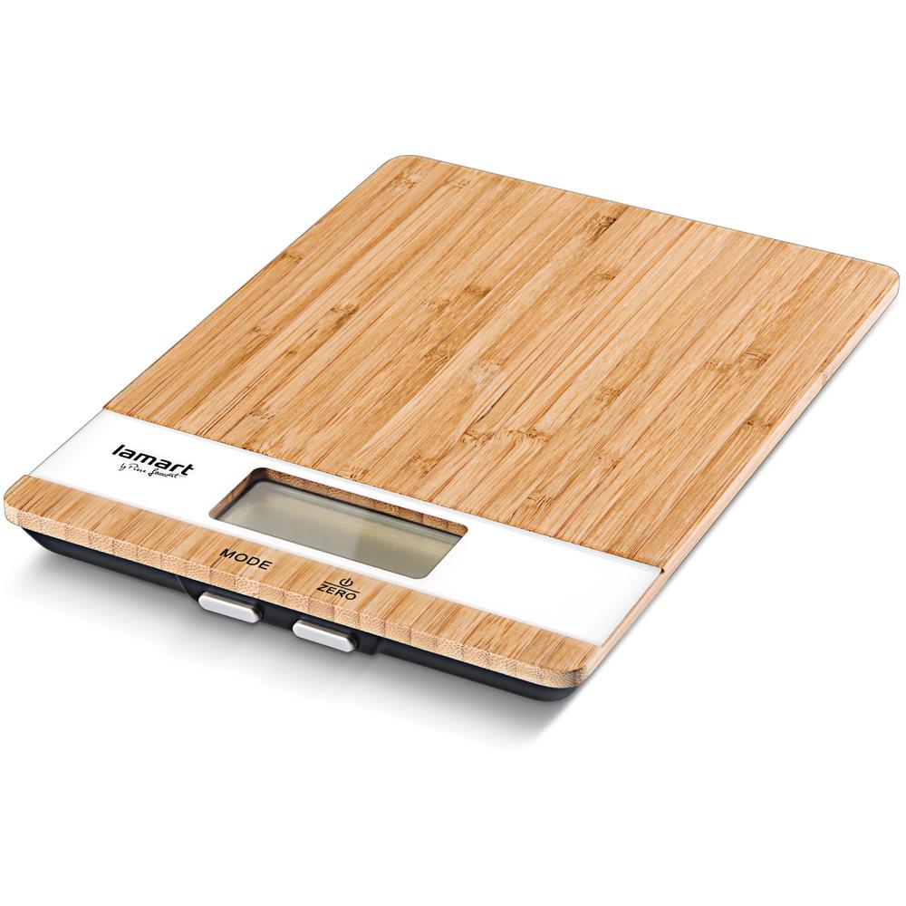 Lamart Bamboo LT7024 digitální kuchyňská váha