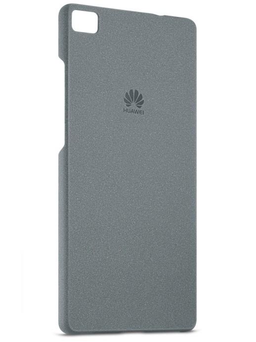 Zadní kryt Huawei Original Protective Pouzdro pro Huawei P8 Lite, tmavě šedý