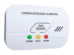 Detektor oxidu uhelnatého CO s alarmem Hutermann ALARM CO-819 EN50291 BSI-Kitemark