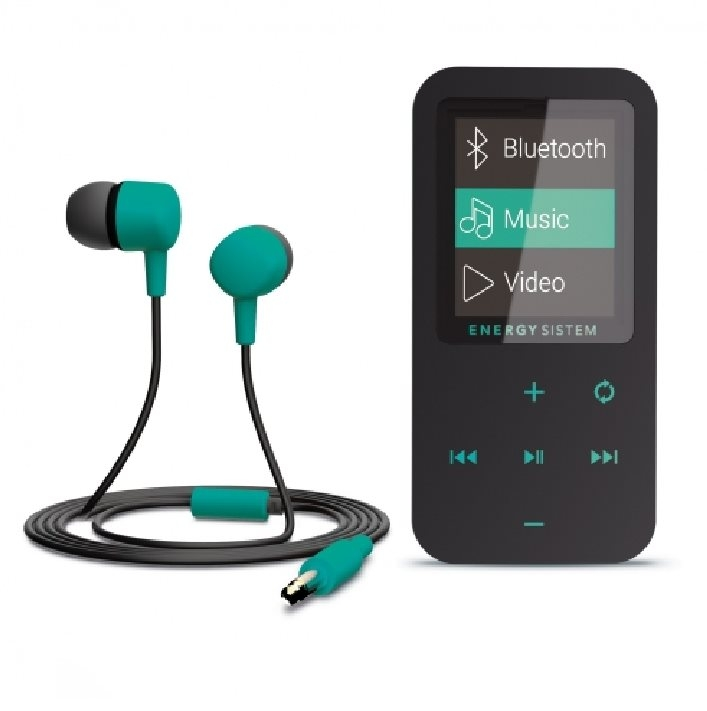 ENERGY MP4 Touch Bluetooth Mint (8 GB, microSD, FM, sluchátka) 426461