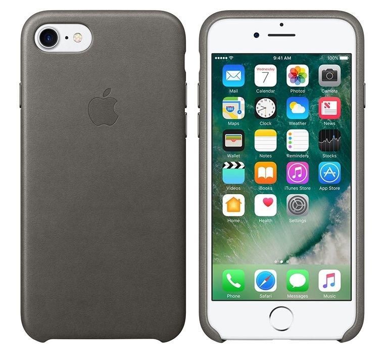 Originální kožený kryt Apple Leather Case MMY12ZM/A pro iPhone 7 MMY12ZM/A