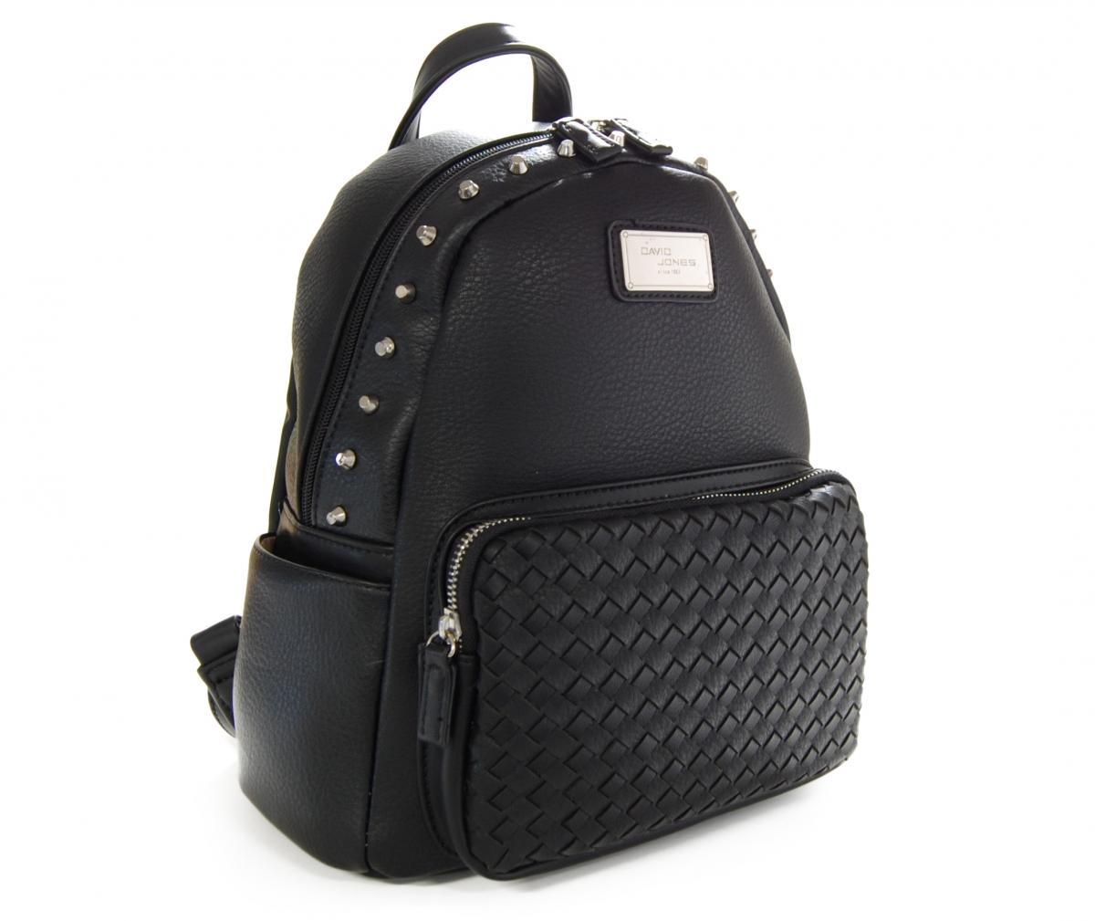 Módní batoh David Jones J17 CM 3525-020, černý CM 3525-020