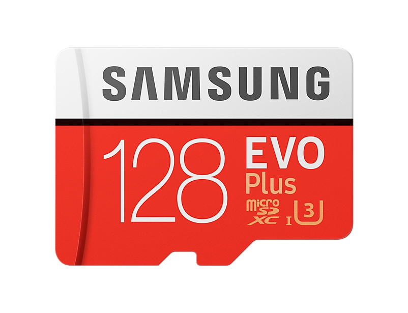Samsung micro SDXC 128GB EVO Plus (UHS-I, U3) + SD adaptér MB-MC128GA/EU