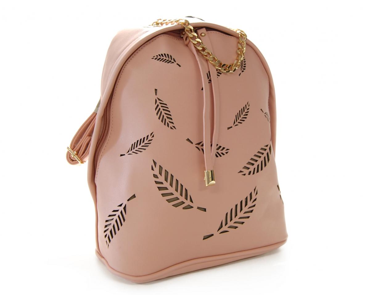 Módní batoh VIVI PARIS A 2067 PINK-004 - růžový