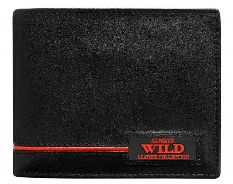 Always Wild pánská peněženka N992-RB z pravé kůže, červená