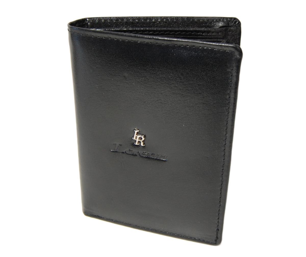 Lorenti pánská peněženka 75699 z pravé kůže, černá