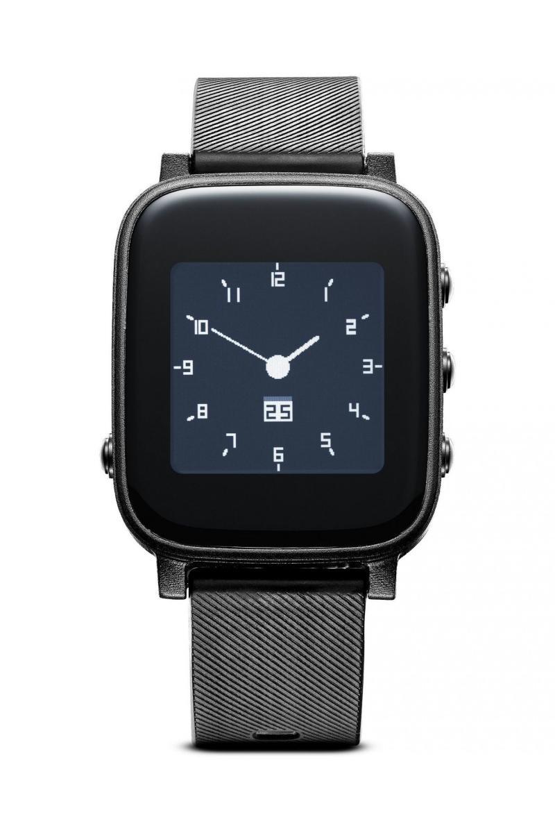 Chytré hodinky s monitorem srdečního tepu CellularLine Easysmart HR, černé BTEASYSMARTHRK