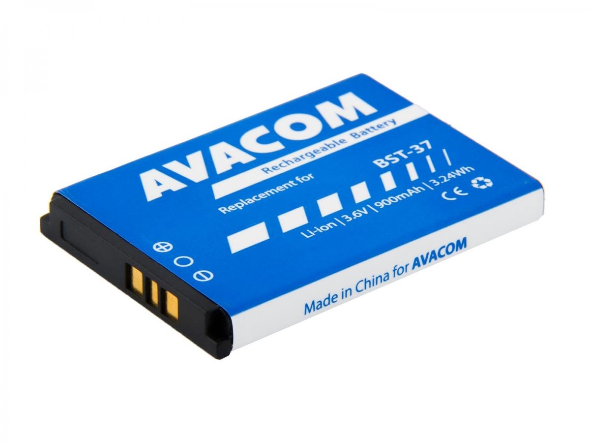 Baterie AVACOM GSSE-K750-900 do mobilu Sony Ericsson K750, W800 Li-Ion 3,7V 900mAh GSSE-K750-900