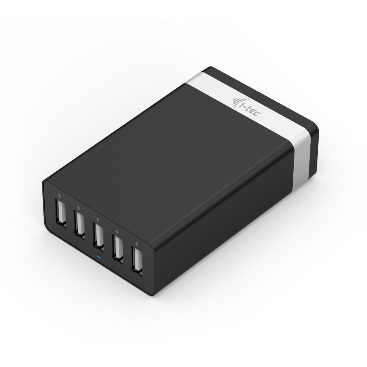 i-tec SMART USB 5 PORT CHARGER 40W / 8A CHARGER5P40W