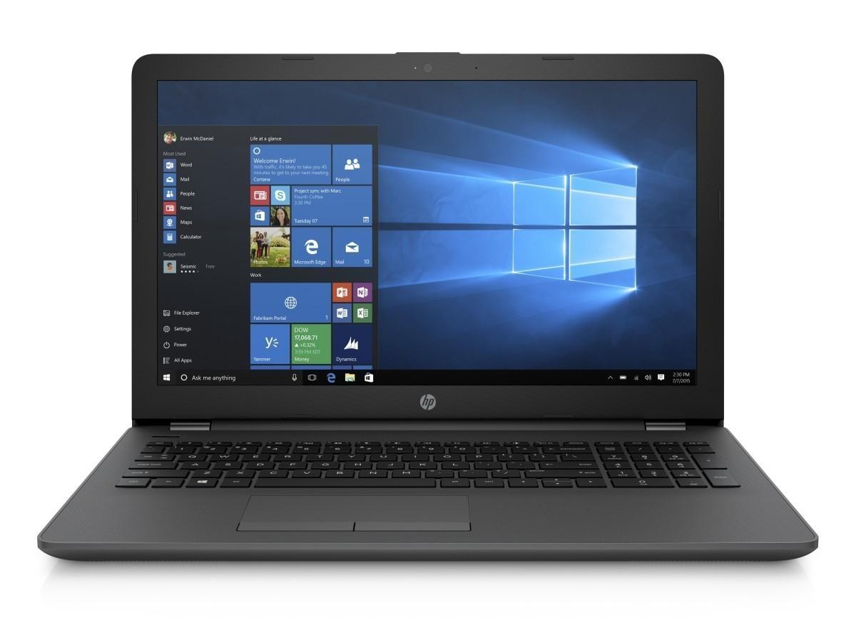 """HP 250 G6 15.6"""" HD N3060/4GB/500GB/DVD/HDMI/VGA/RJ45/WIFI/BT/MCR/1RServis/W10 1TT46EA#BCM"""