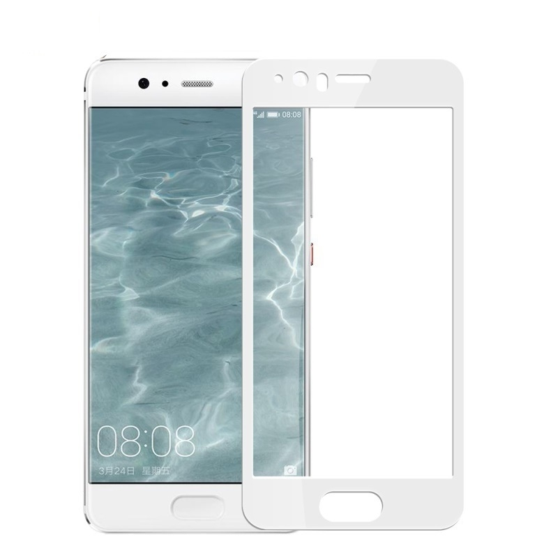 Tvrzené sklo Tactical 2.5D pro Huawei P10, bílé okraje