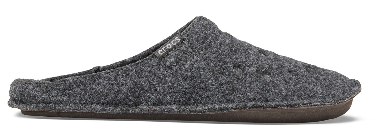 Crocs Classic Slipper - Black, M12 (46-47)