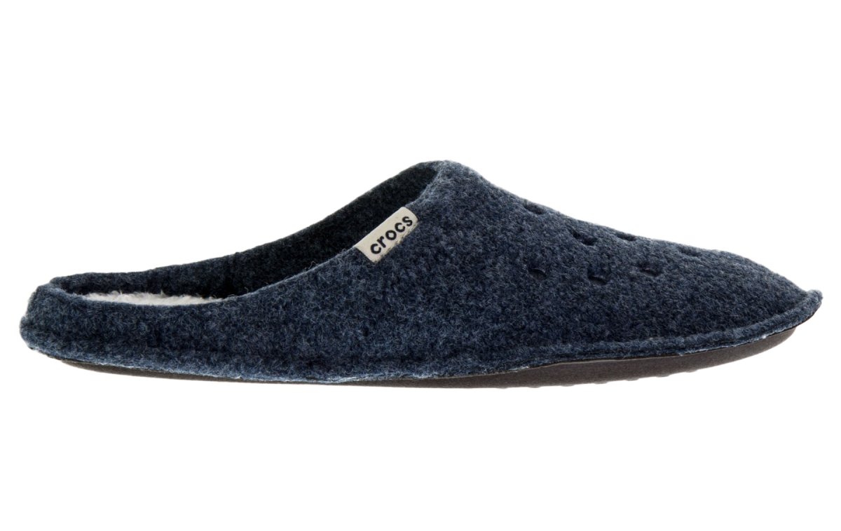 Crocs Classic Slipper - Nautical Navy/Oatmeal, M6/W8 (38-39)