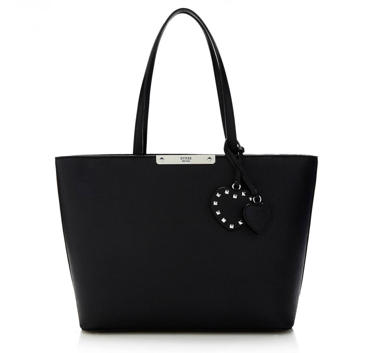 Guess Britta Shopper, černá