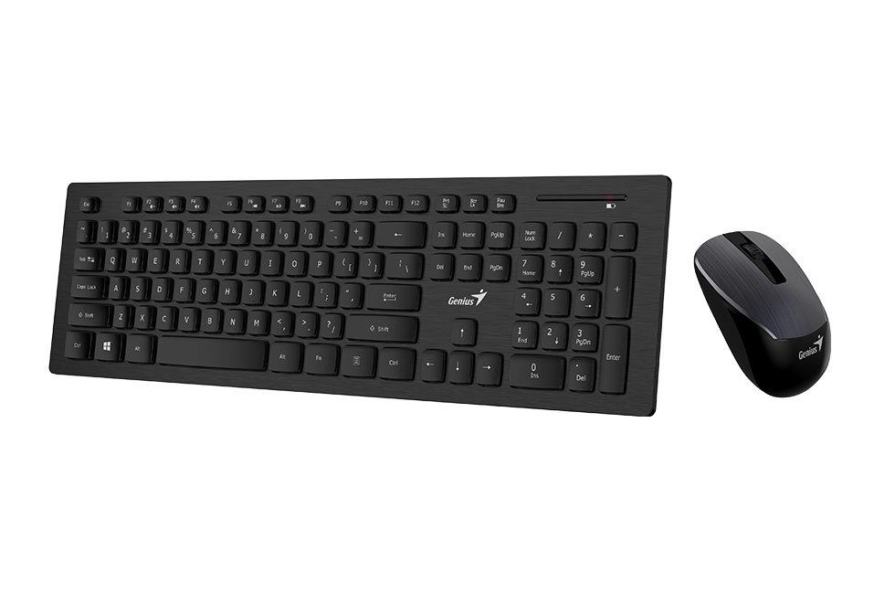 set GENIUS SlimStar 8008 USB Black CZK+SK 31340001403