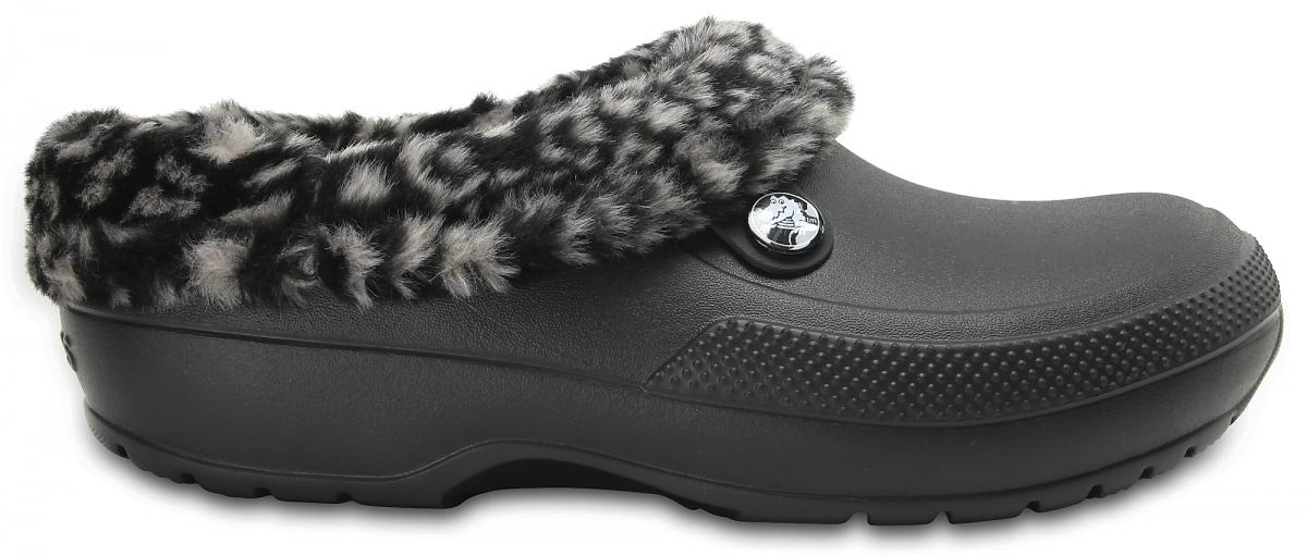 Crocs Classic Blitzen III Animal Clog - Black/Tumbleweed, M5/W7 (37-38)