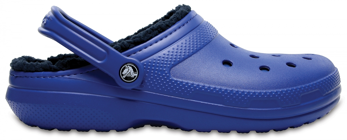 Crocs Classic Lined Clog - Blue Jean/Navy, M10/W12 (43-44)