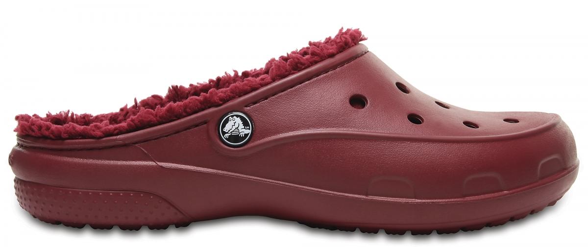 Crocs Freesail PlushLined Clog - Garnet, W9 (39-40)