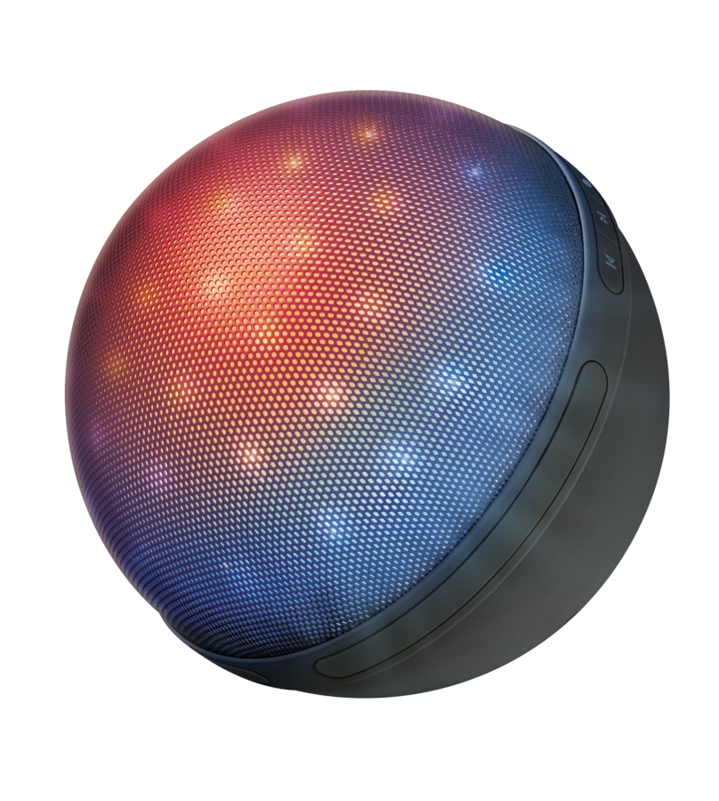 Trhák TRUST Dixxo Orb Bluetooth Wireless Speaker with party lights 22014