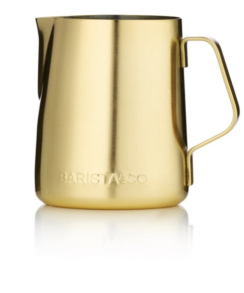 Barista & Co konvička na mléko, 350 ml, Midnight Gold BC004-024