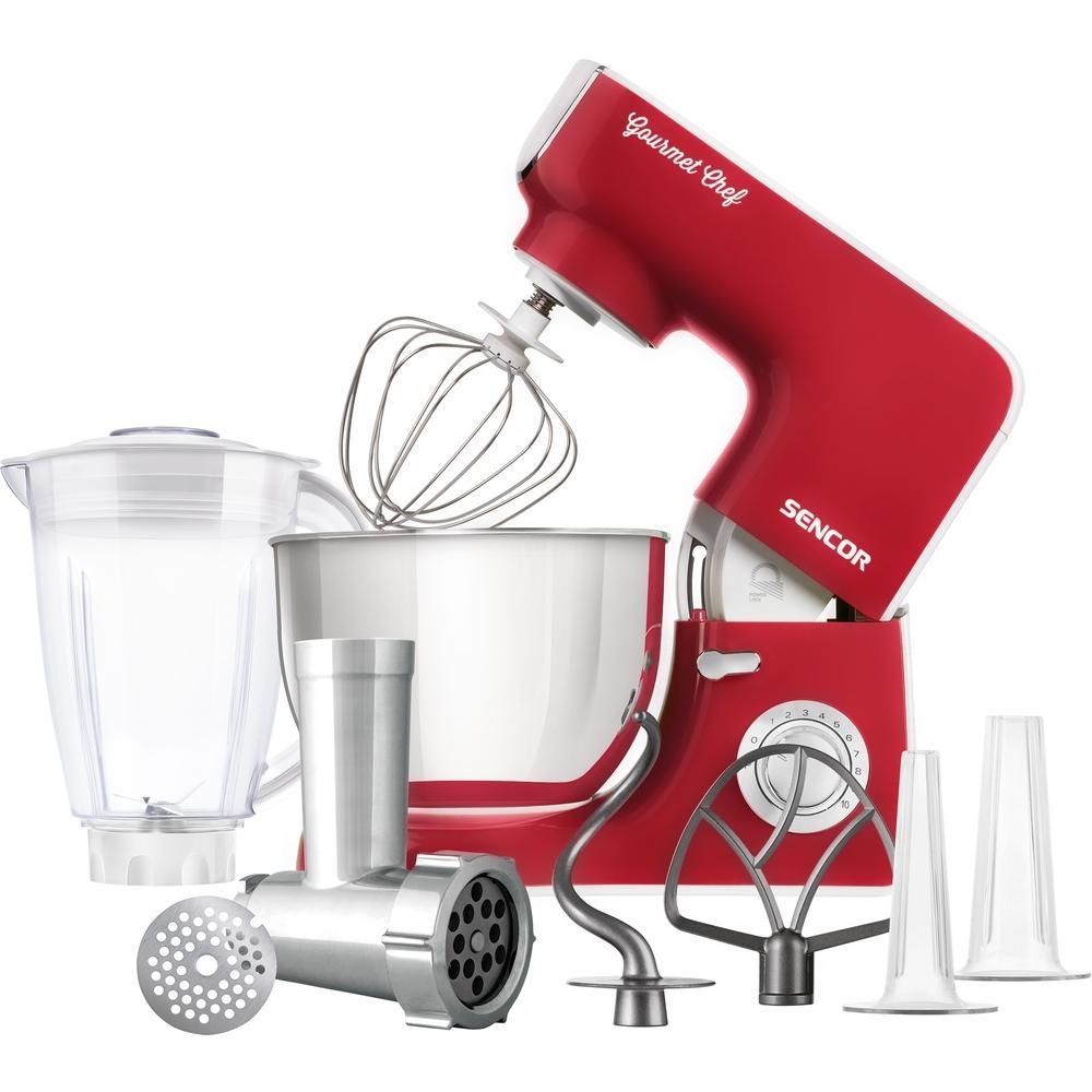 Kuchyňský robot SENCOR STM 3774RD - červený