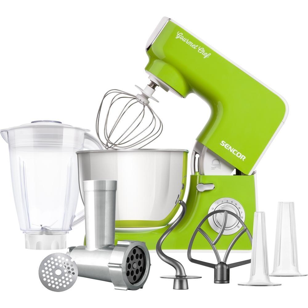 Kuchyňský robot SENCOR STM 3771GR - zelený