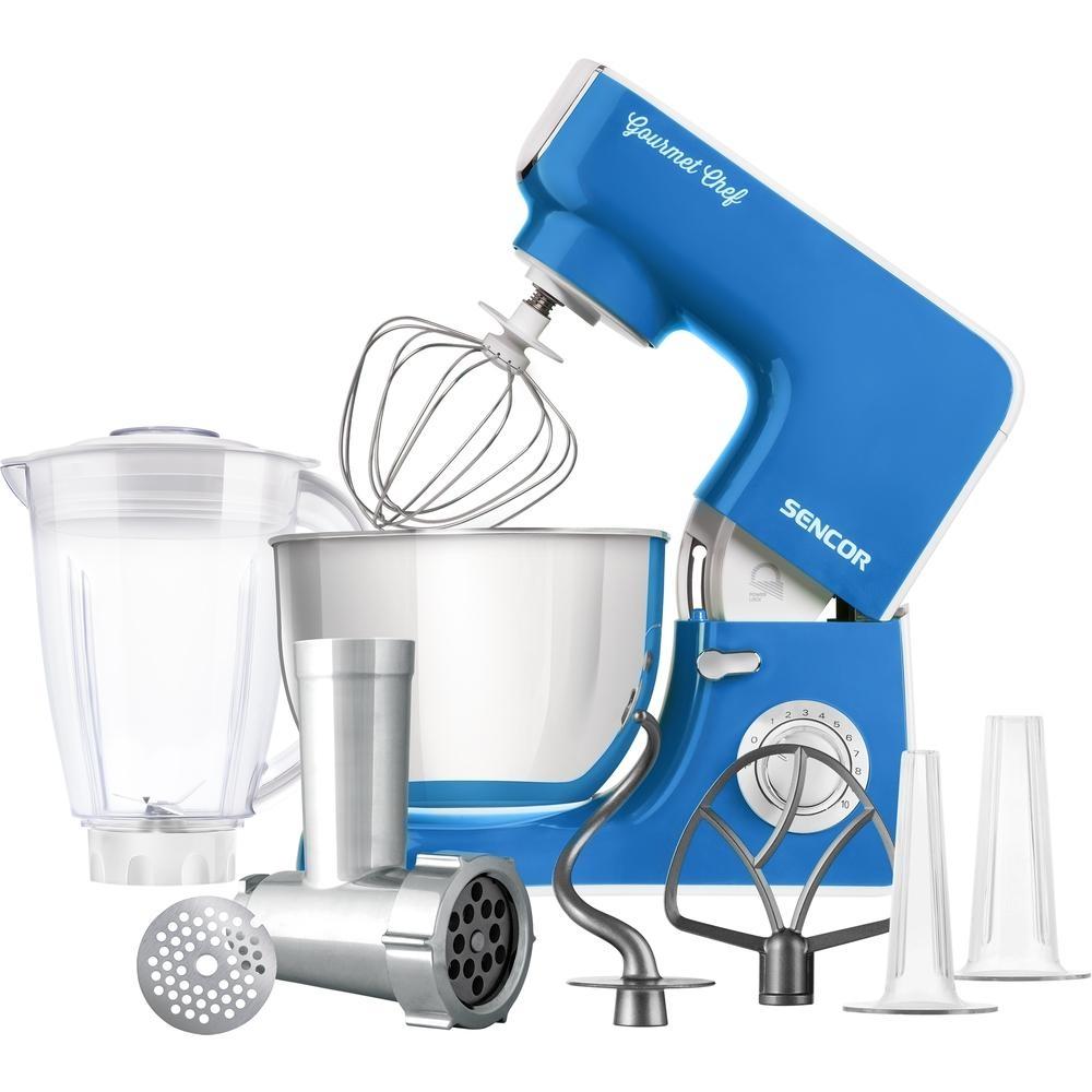 Kuchyňský robot SENCOR STM 3772BL - modrý
