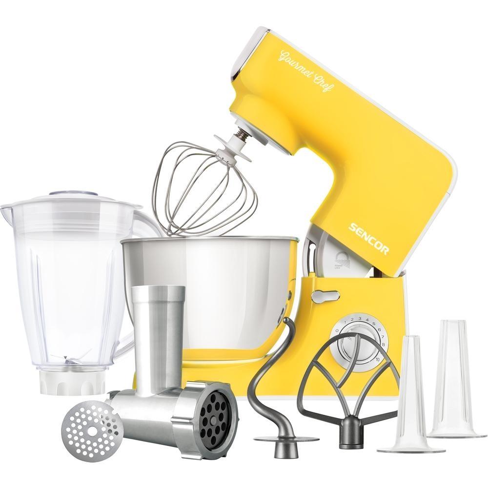Kuchyňský robot SENCOR STM 3776YL - žlutý
