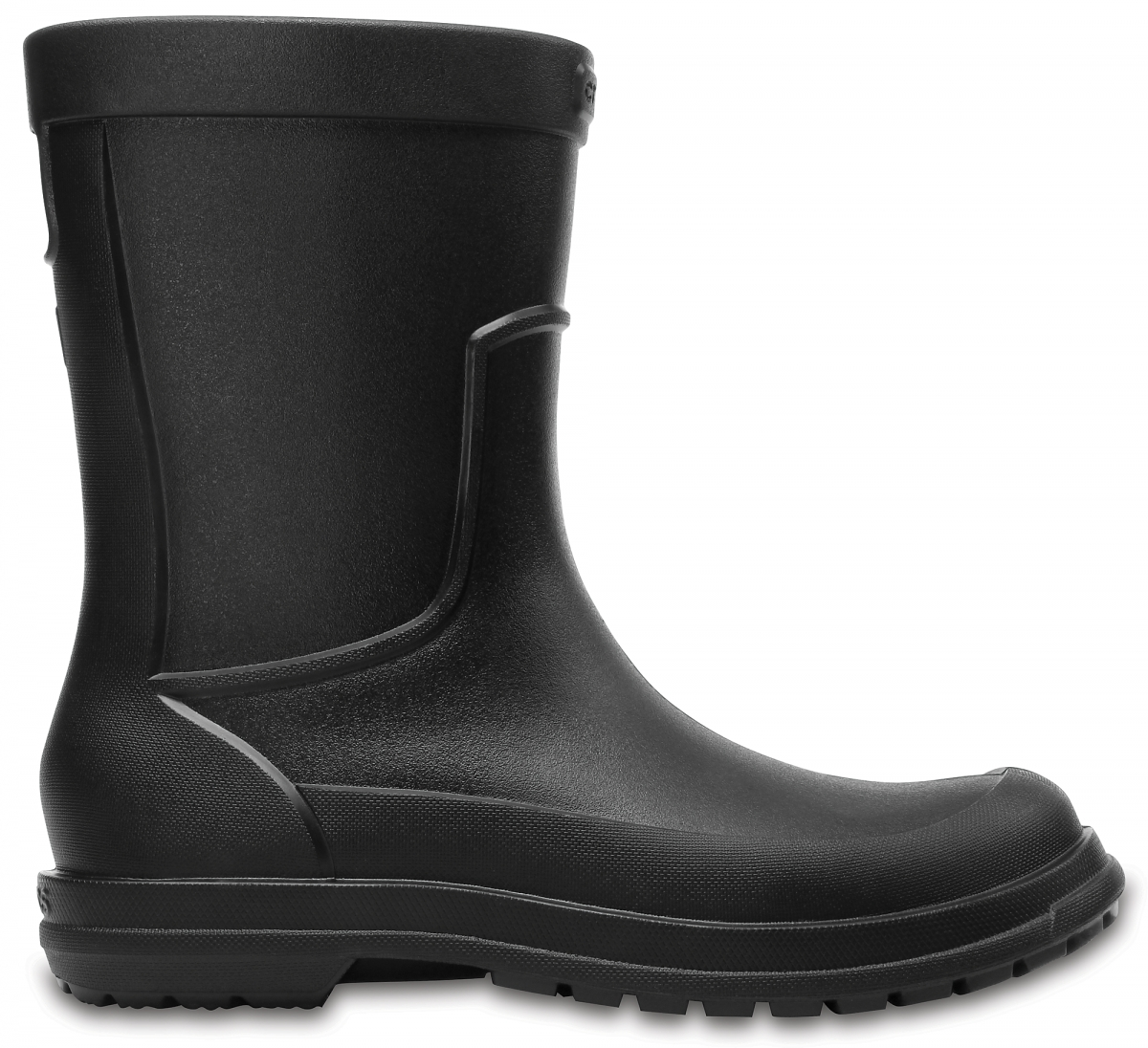 Crocs AllCast Rain Boot Men - Black, M8 (41-42)