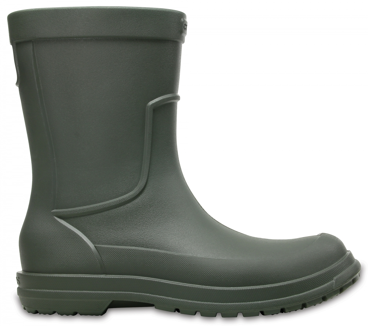 Crocs AllCast Rain Boot Men - Dusty Olive, M12 (46-47)