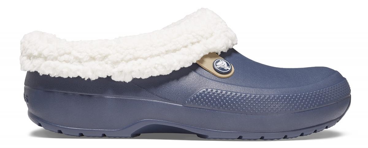 Crocs Classic Blitzen III Clog - Navy/Oatmeal, M11 (45-46)