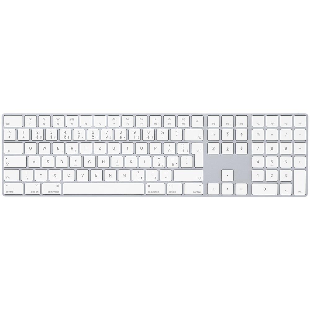 Magic Keyboard s numerickou klávesnicí - Czech MQ052CZ/A