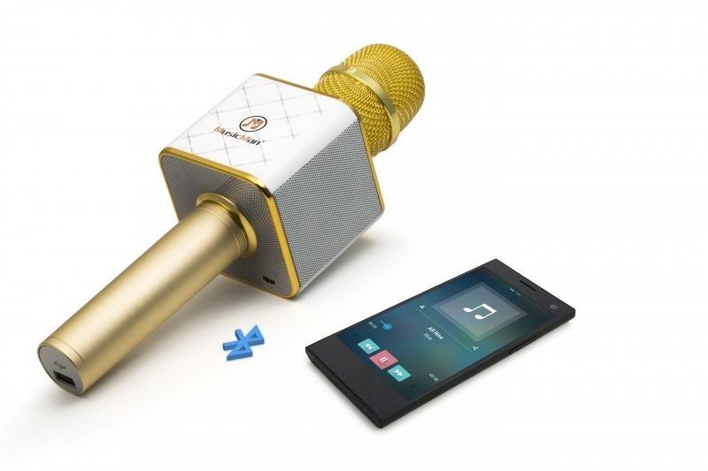 Bluetooth karaoke mikrofon se stereo reproduktorem Technaxx BT-X31 4685