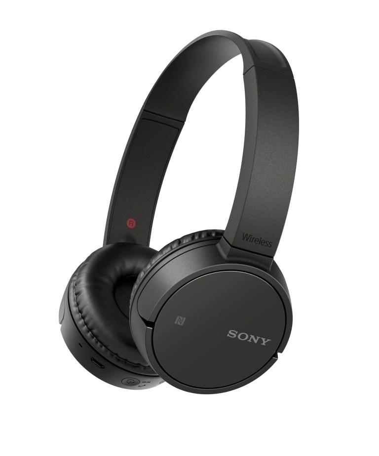Trhák bezdrátová sluchátka SONY MDR-ZX220BT, černá MDRZX220BTB.CE7
