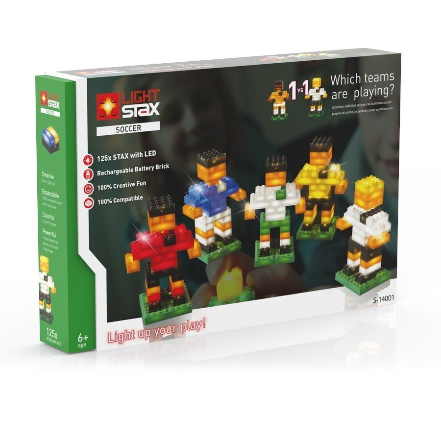 LIGHT STAX Soccer - kompatibilní s LEGO S-14001