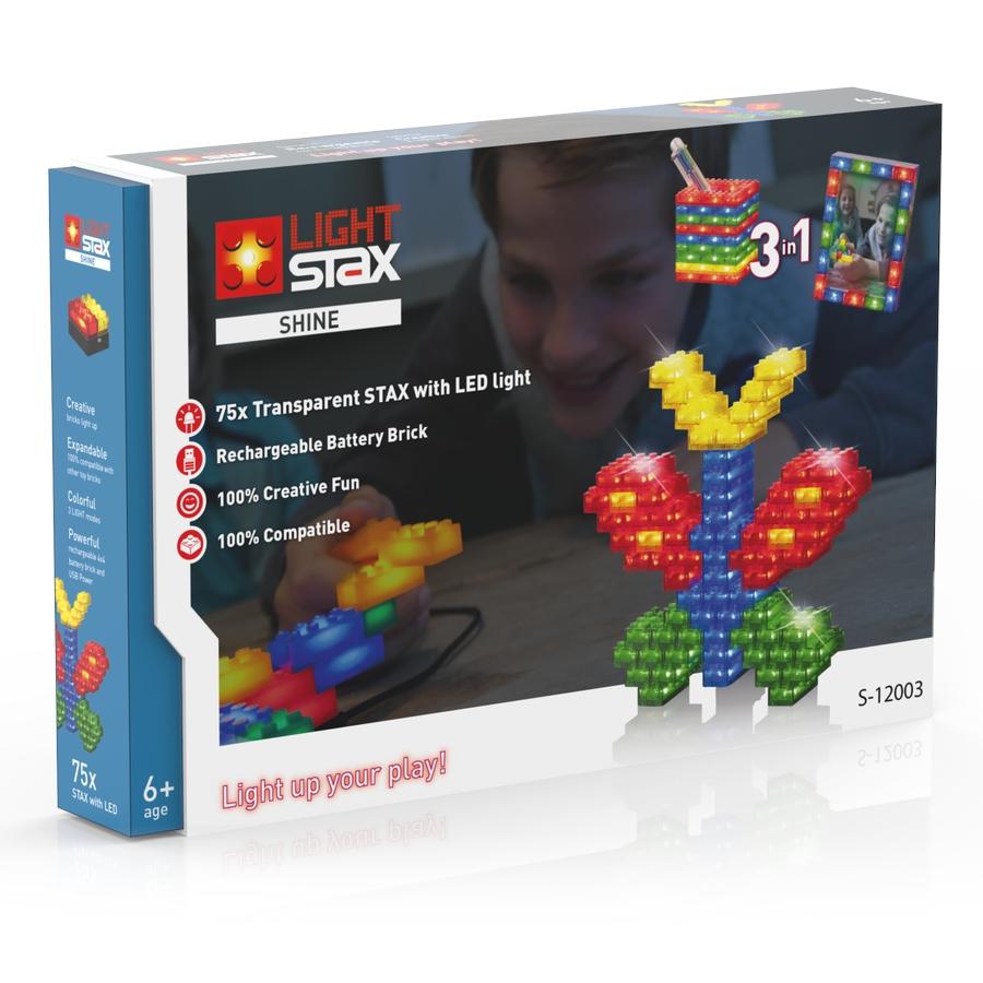 LIGHT STAX Shine (3v1) - kompatibilní s LEGO S-12003