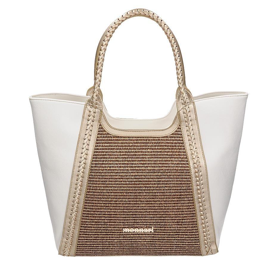 Dámská shopper kabelka Monnari 3490, bílá