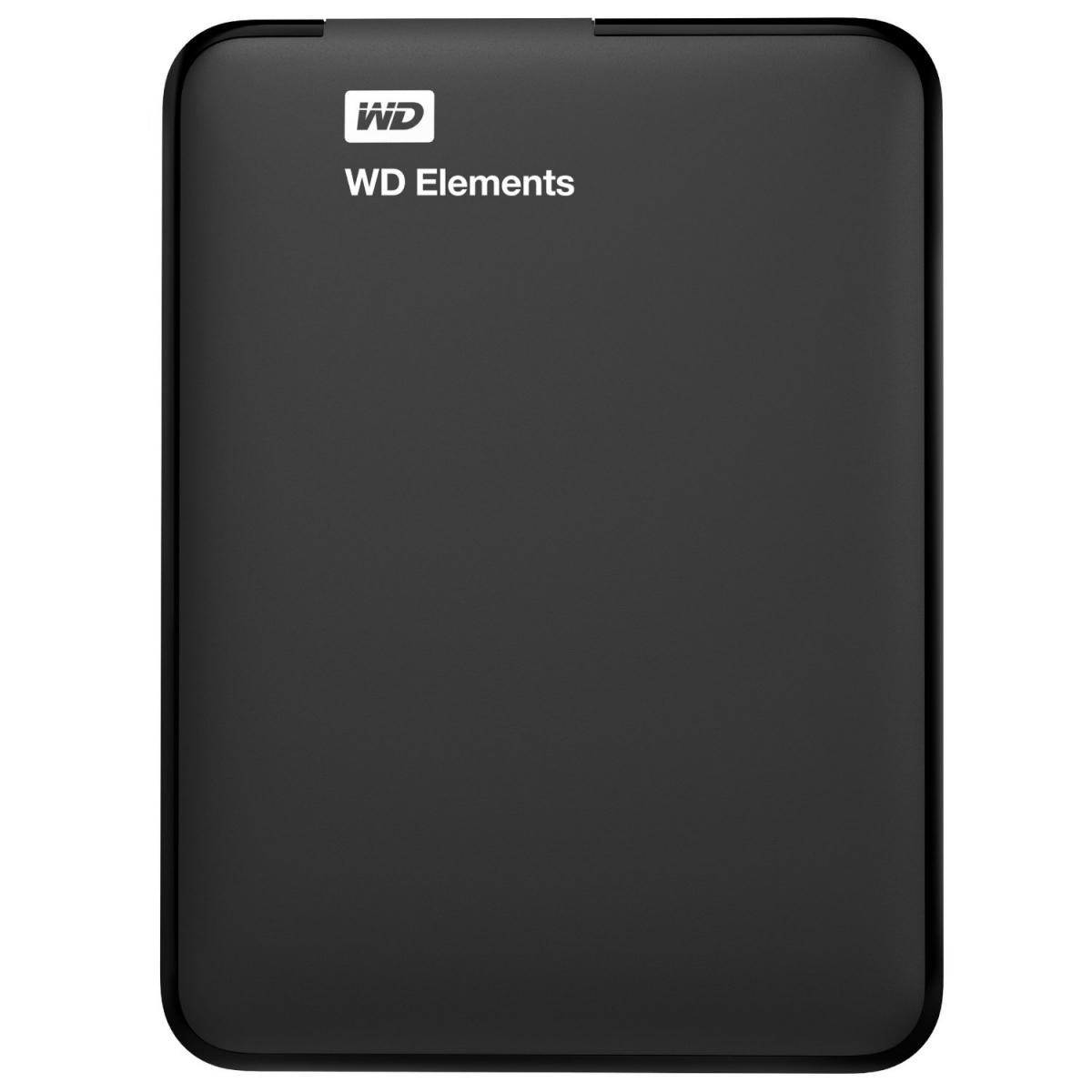 "WD Elements Portable 1TB Ext. 2.5"" USB3.0, Black WDBUZG0010BBK-WESN"