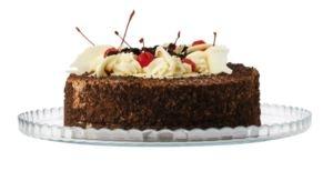 Maxwell & Williams skleněný podnos na dort, 32cm